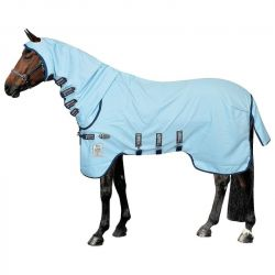 Couverture anti-mouche cheval avec cou imprégnée Vamoose Rambo Sweet Itch Hoody
