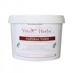 2 Natural Verm Cheval ,Vital Herbs,Vers cheval
