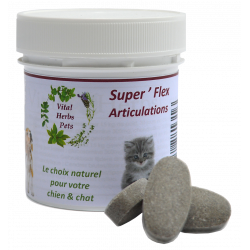 Superflex +Tabs articulations chien Vital Herbs