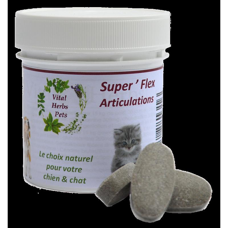 Superflex +Tabs articulations chien Vital Herbs