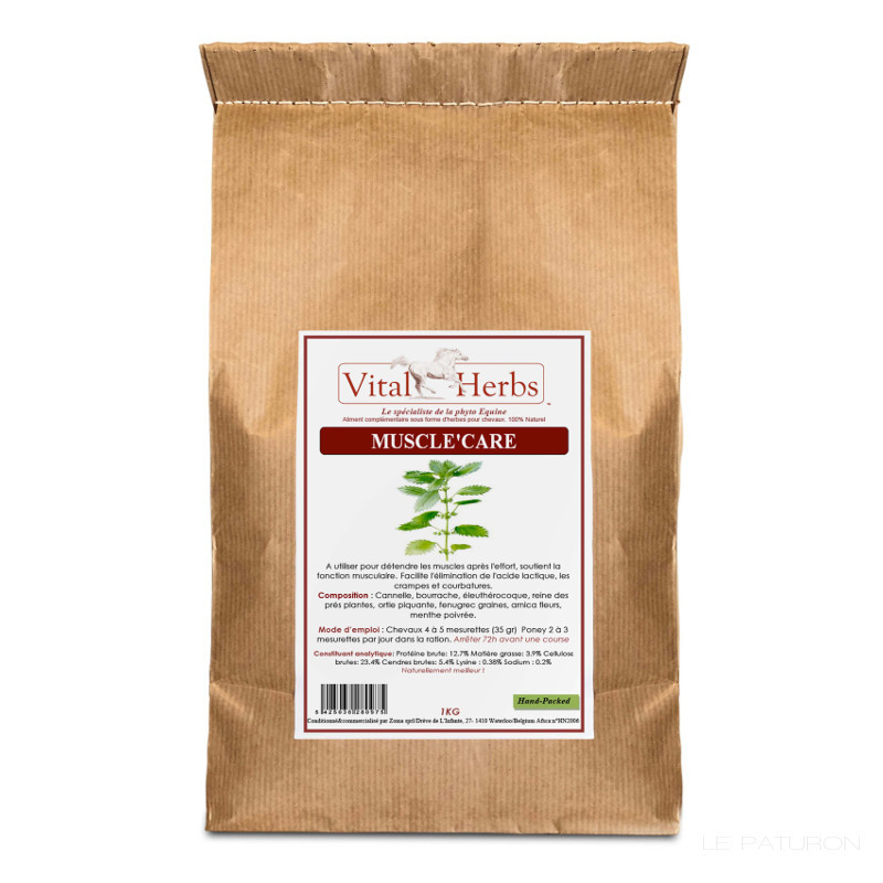 Muscle Care Cheval Vital Herbs