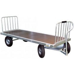 Chariot 4 roues galvanisé sans échelons La Gée
