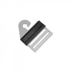 Connecteur inox pour ruban clôture électrique Litzclip x 4