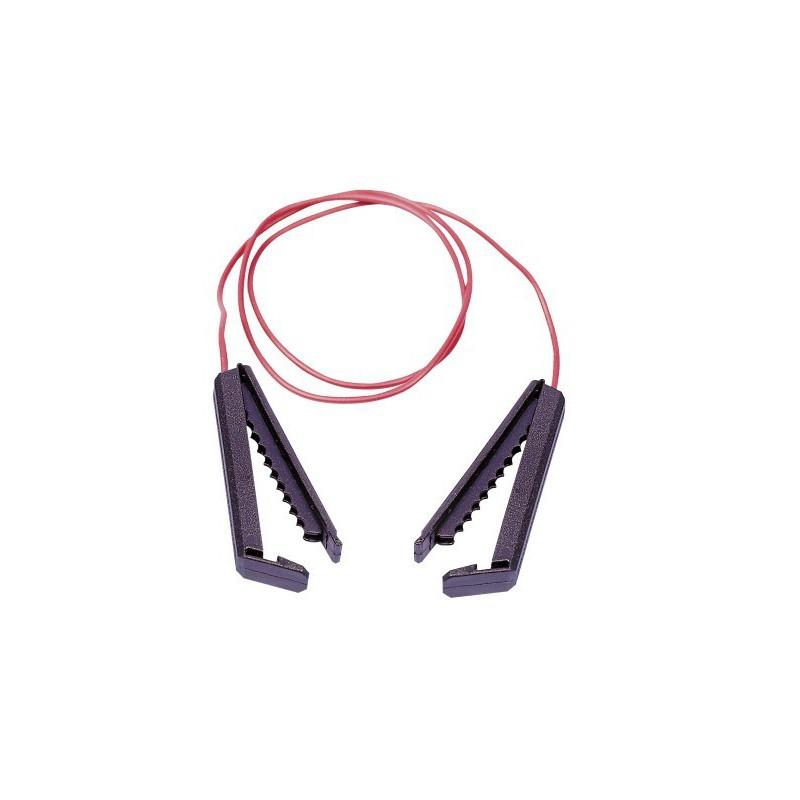 Connecteur rubans clôture électrique chevaux