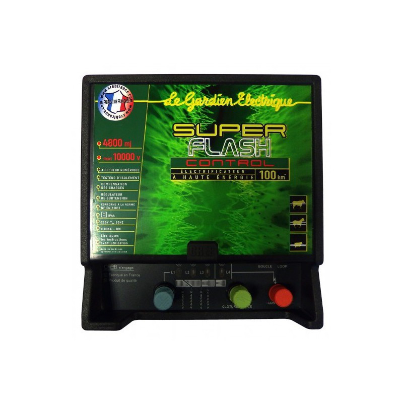Electrificateur Super Flash Creb - Le Paturon