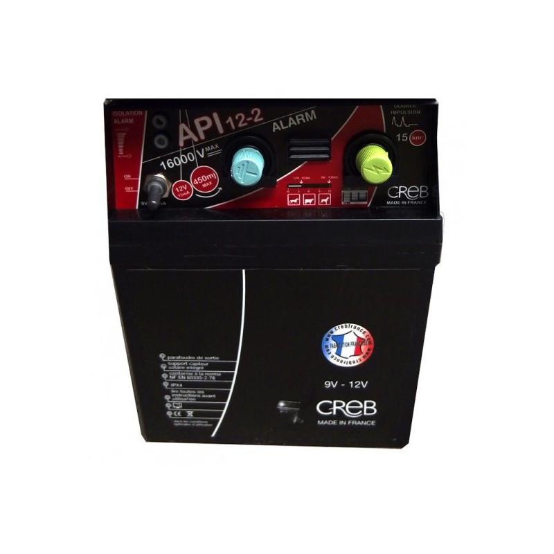Electrificateur Le Gardien électrique API 12-2 Alarm - Le Paturon