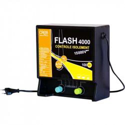 Électrificateur clôture chevaux 60 km Flash 4000 Secteur 220 V Pro
