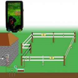 Electrificateur clôture électrique chevaux 10 km EKI 5