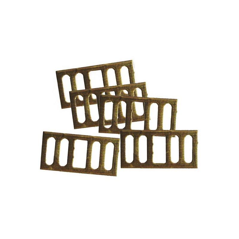 Boucles en aluminium pour rubans Creb - Le Paturon