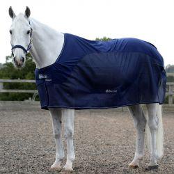 Couverture anti-mouche cheval et séchante Bucas Cooler Compétition
