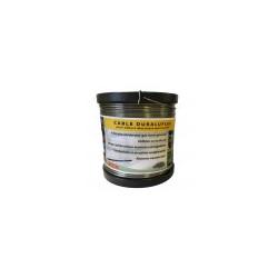Fil alliage anti-rouille Clôture électrique Aluminium Duraflex 400 m 1.8 mm