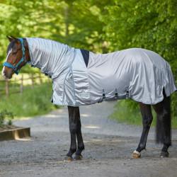 Couverture anti-mouche anti dermite cheval Protect Waldhausen - Le Paturon