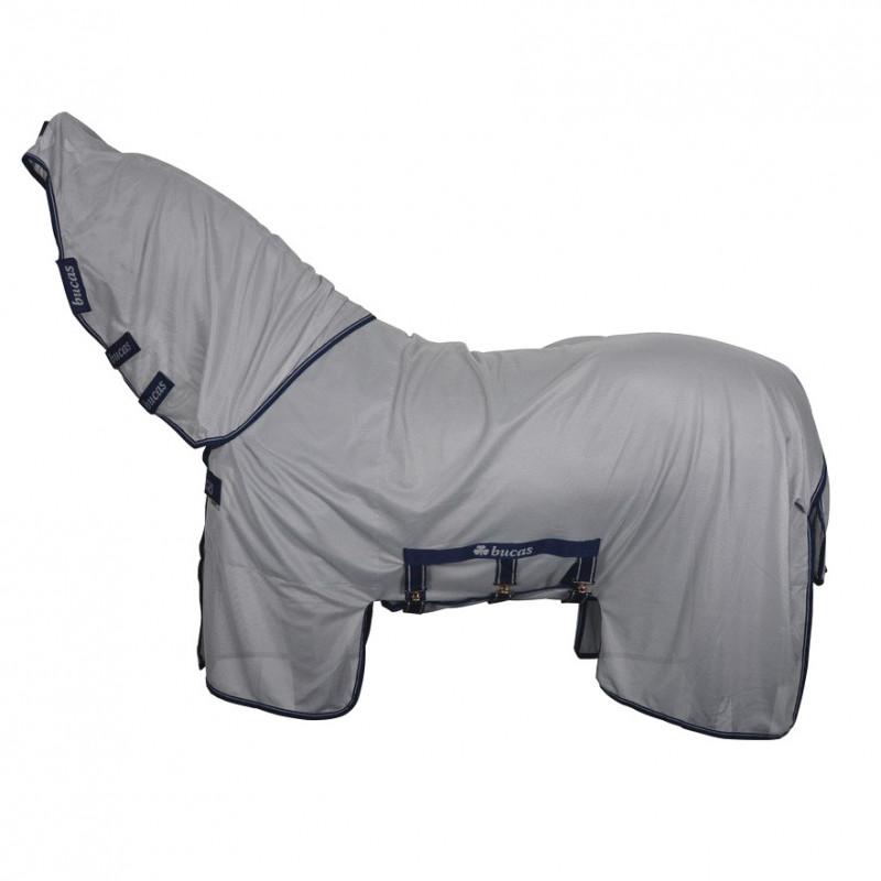 Couverture anti-mouche cheval dermite Buzz Off X Bucas - Le Paturon