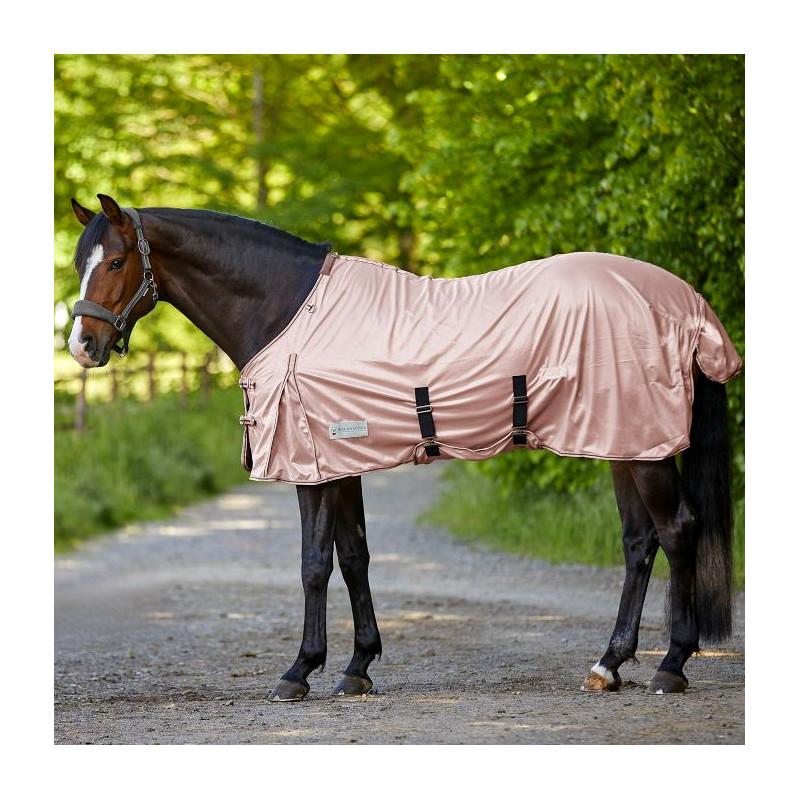 Couverture anti-mouche cheval Protect Waldhausen - Le Paturon - Rose