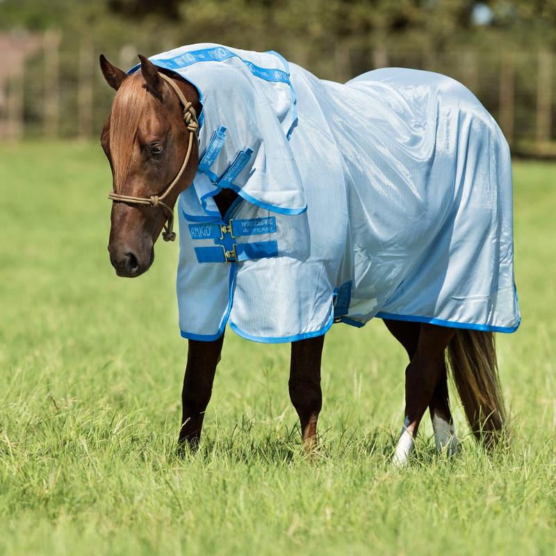 Couverture anti-mouche cheval avec cou Amigo Bug Rug - Le Paturon