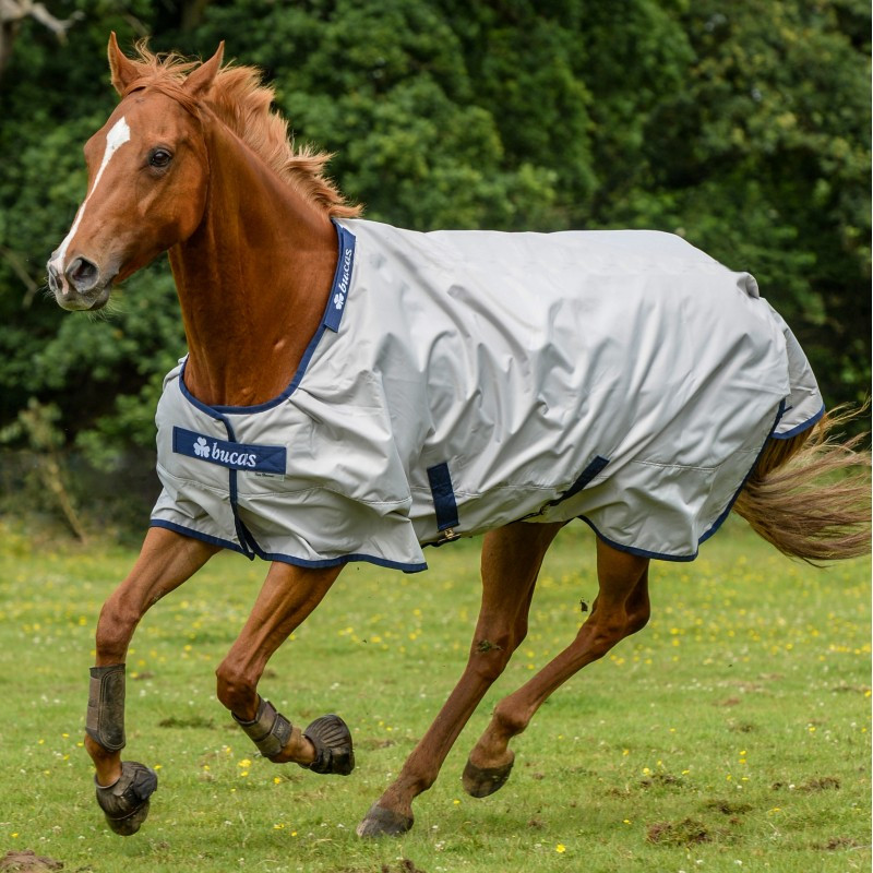 Couverture cheval imperméable anti-uv - Sun Shower Bucas - Le Paturon