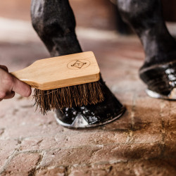 Grooming Deluxe Kentucky - Brosse Sabot cheval - Le Paturon