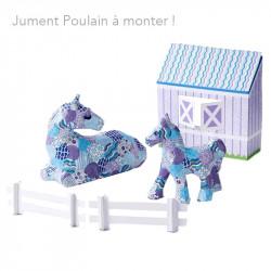 Kit à monter Poulain et Juments - Loisir enfant - Le Paturon