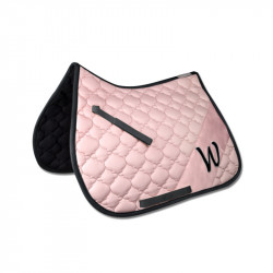 Tapis de selle cheval Barcelona rose - Waldhausen