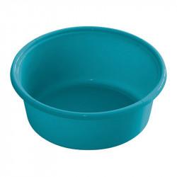 Bassine mangeoire seau bleu aqua cheval de 6 litres - Le Paturon