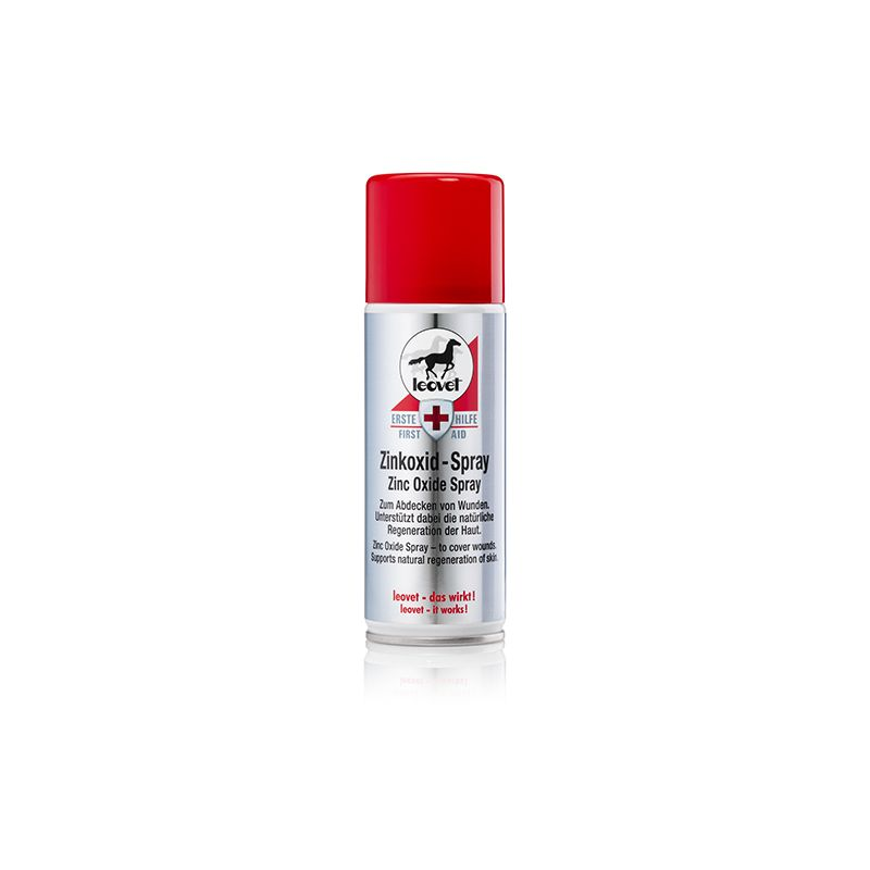 Spray cicatrisant oxyde de zinc 200 ml, Leovet, Plaie et Sarcoïde cheval - Le Paturon