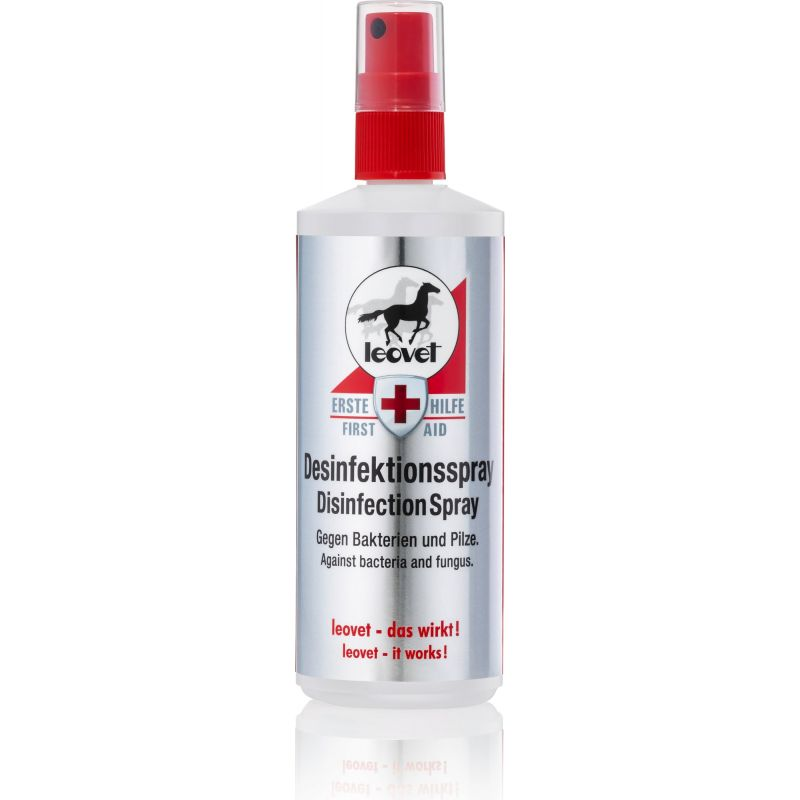 First aid spray désinfectant 200 ml, Leovet, Plaie et Sarcoïde cheval - Le Paturon