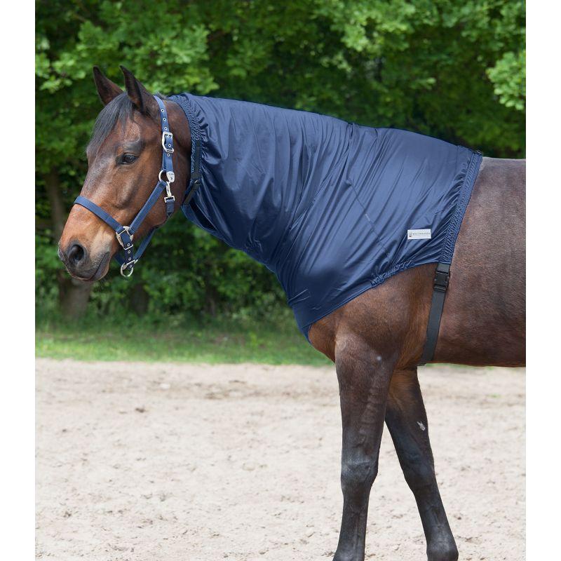 Protection crins dermite cheval Waldhausen bleu nuit - Le Paturon