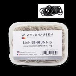 Elastiques à natter Waldhausen - Le Paturon - Noir