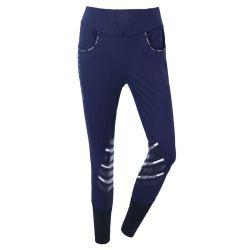 Un leggings léger et confortable pour toutes les cavalières qui n'aiment pas se sentir serrées dans leur pantalon d'équitation -