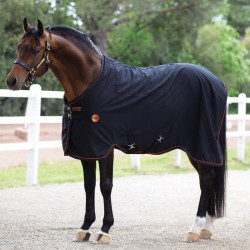 Chemise polaire cheval thérapeutique Rambo Ionic Stable Sheet  Horseware - Le Paturon