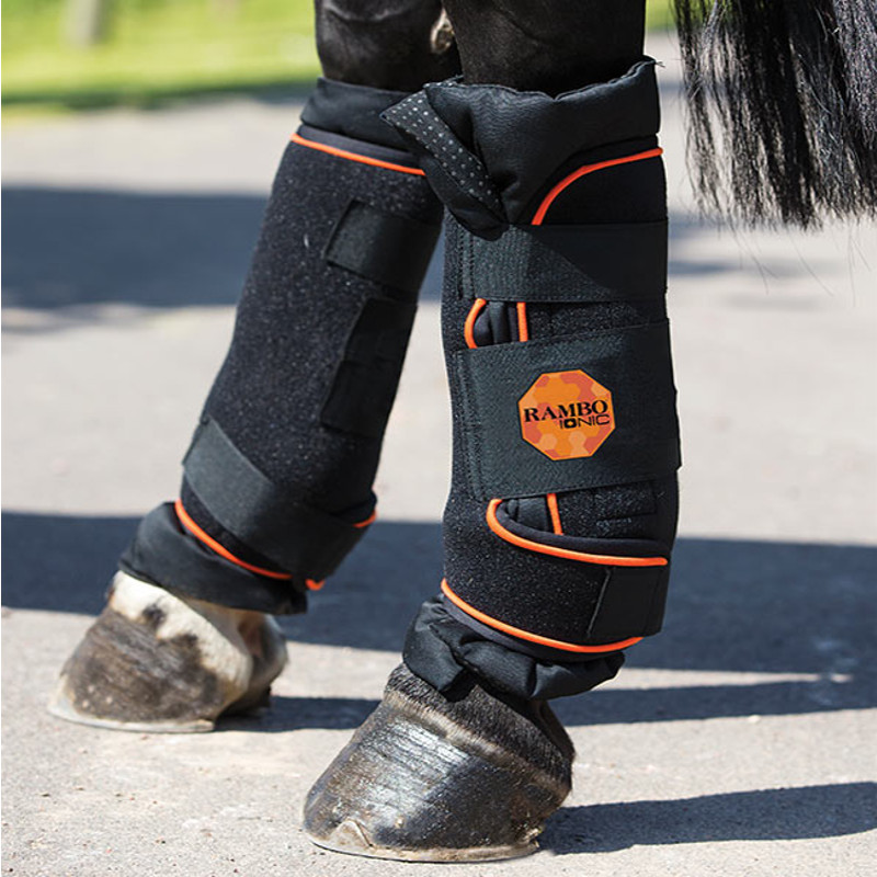 Guêtre cheval Rambo Ionic Stable Boots Horseware - Le Paturon