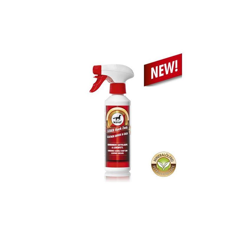 Nettoyant et Nourrissant cuir 2 en 1 spray 250 ml  LEOVET