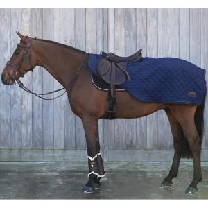 Couvre reins cheval Kentucky bleu 160 Grammes
