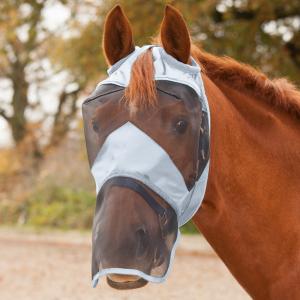 masque-anti-mouche cheval naseau premium