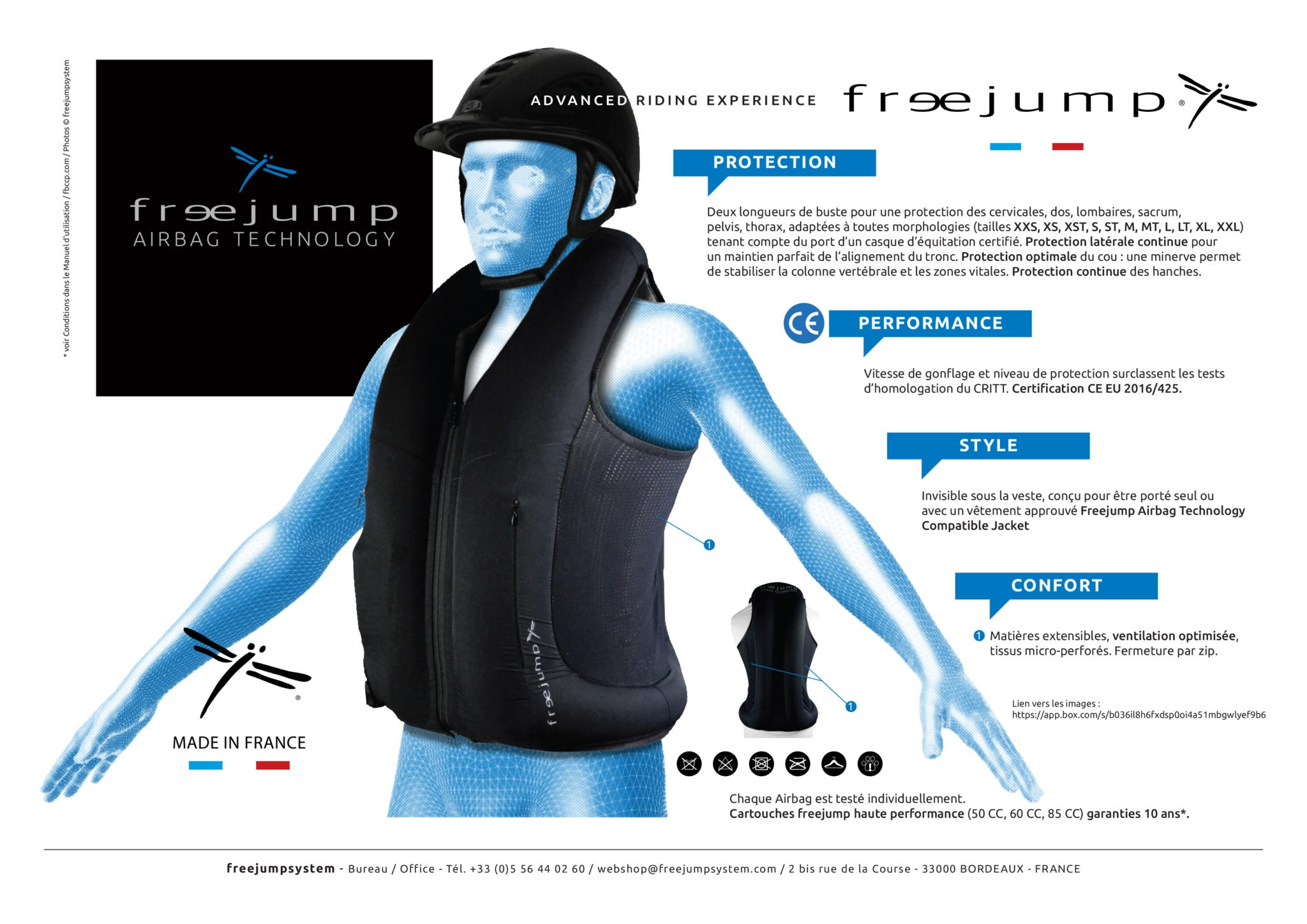 Gilet airbag Freejump - Le Paturon