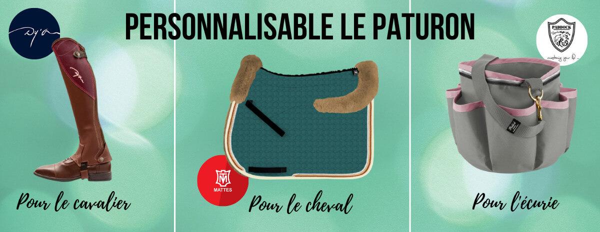 Personnalisable cheval - Le Paturon
