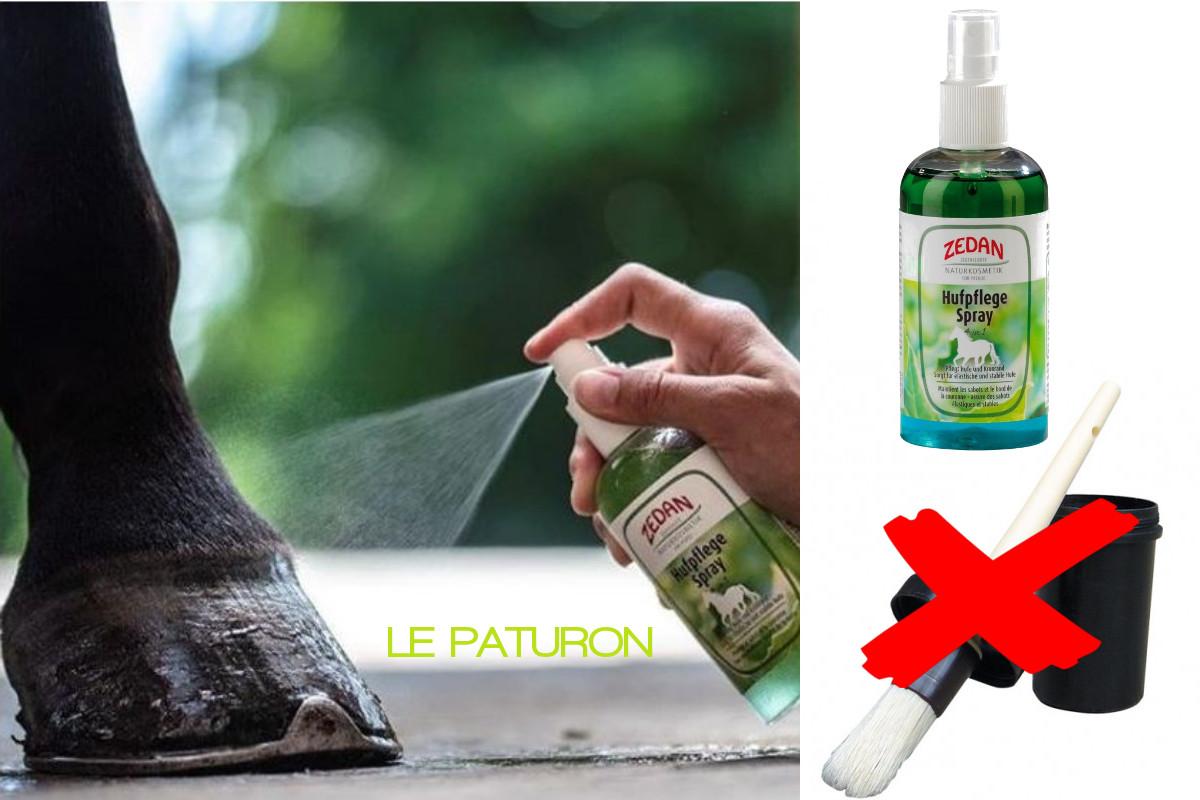 Soin spray sabots cheval Zedan - Le Paturon
