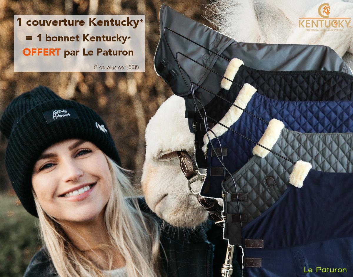 Kentucky couverture - un cadeau offert - Le Paturon