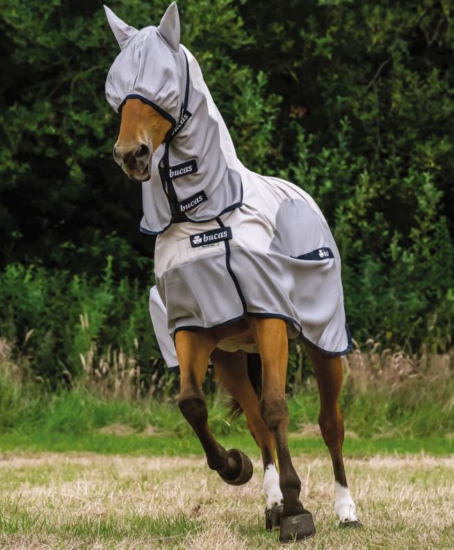Buzz-off Rain meilleur couverture anti uv cheval - Bucas - Le Paturon