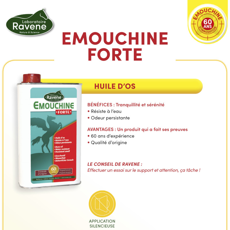 Emouchine Forte Ravene - Le Paturon