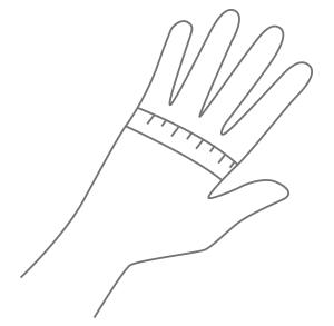 Comment choisir taille gant équitation - Le Paturon