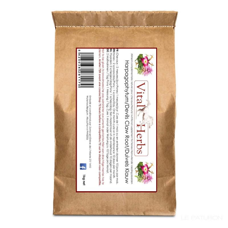 Meilleur Harpagophytum Cheval, Vital Herbs, Harpagophytum cheval - Le Paturon