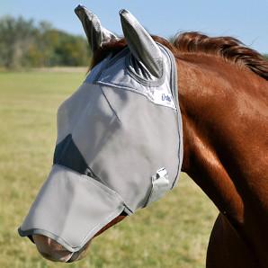 Masque anti mouche cheval anti uv - Le Paturon