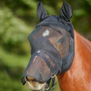 masque anti mouche cheval oreille - Le Paturon