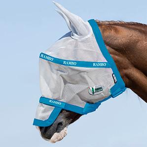 masque anti mouche cheval - Masque rambo vamoose Horseware - Le Paturon