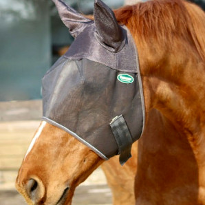 Masque anti mouche cheval Emouchine Ravene - Le Paturon