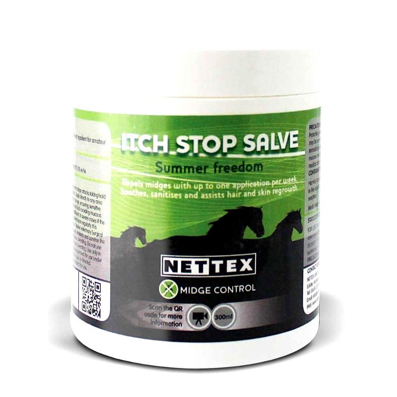Itch Stop Salve dermite estivale cheval Nettex - Le Paturon