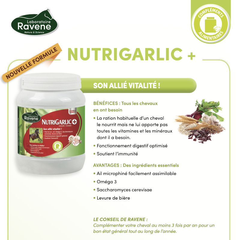 Nutrigarlic Ravene - Le Paturon