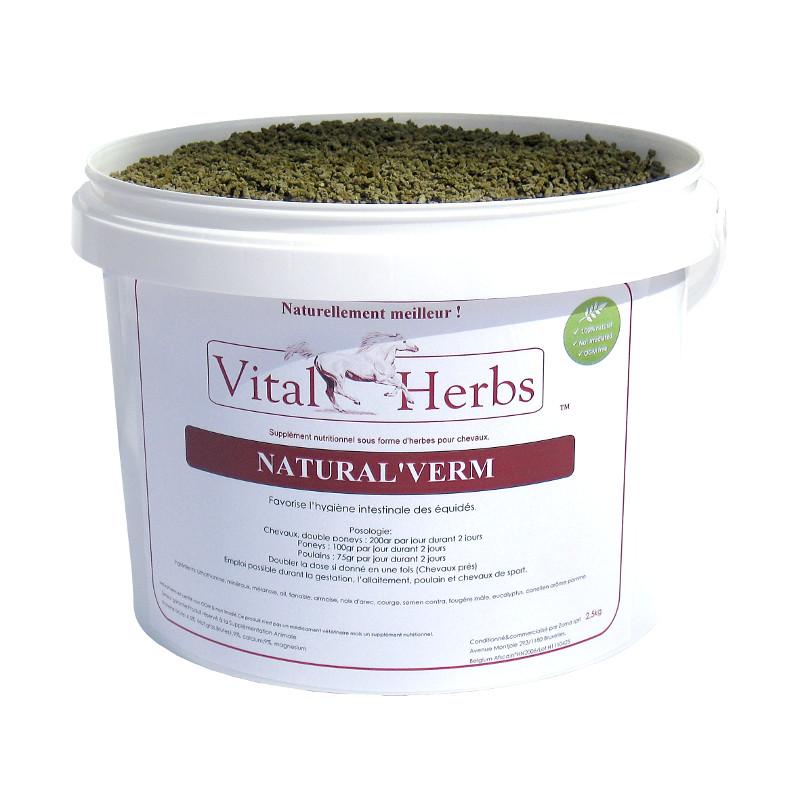 Natural Verm cheval naturel vers - VitalHerbs