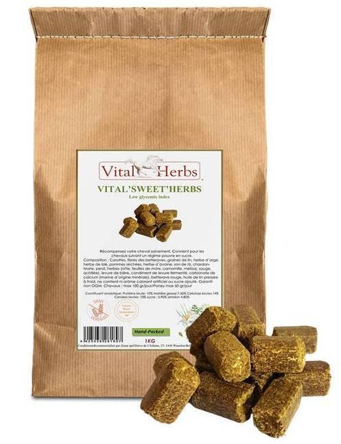 Friandise cheval - Vital sweet herbs - Vital Herbs - Le Paturon